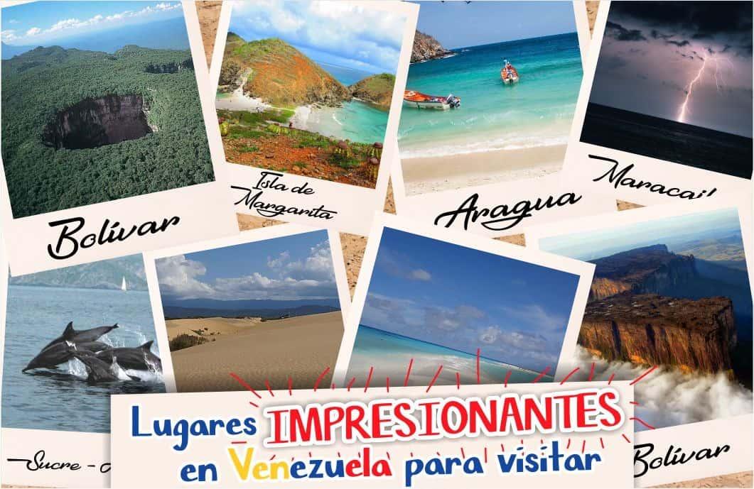 lugares impresionantes de venezuela
