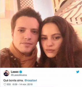 Lasso y Rosalía
