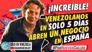 Venezolanos que TRIUNFAN en España