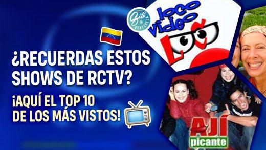 programas de RCTV
