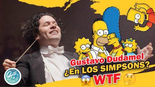 Gustavo Dudamel en los Simpsons