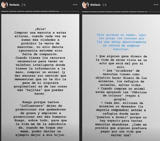 pelea de Sascha Fitness y Maria Gabriela de Faria