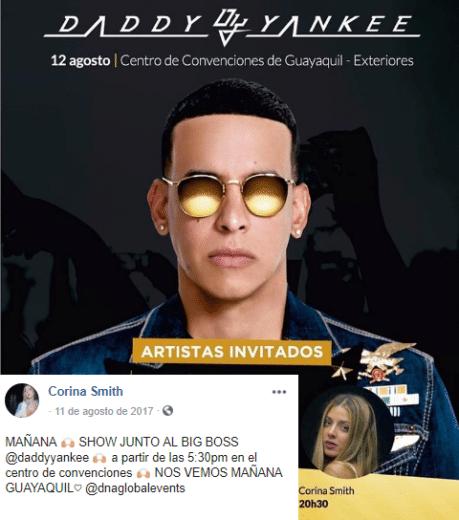 Colaboración con Daddy Yankee