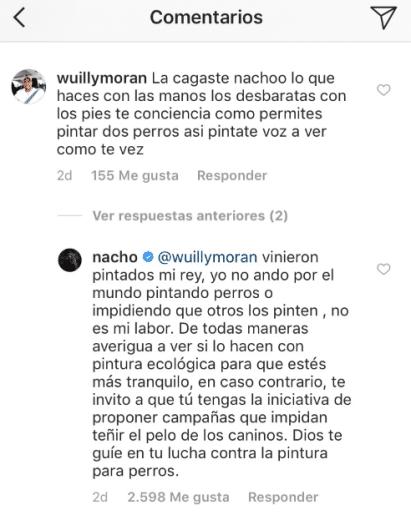 respuestas polémicas de nacho