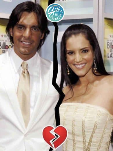 Gaby Espino y Cristóbal Lander
