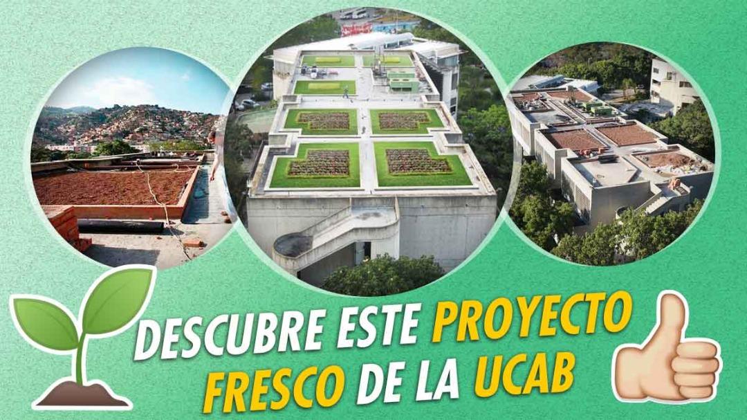 UCAB techo verde público en Caracas Venezuela