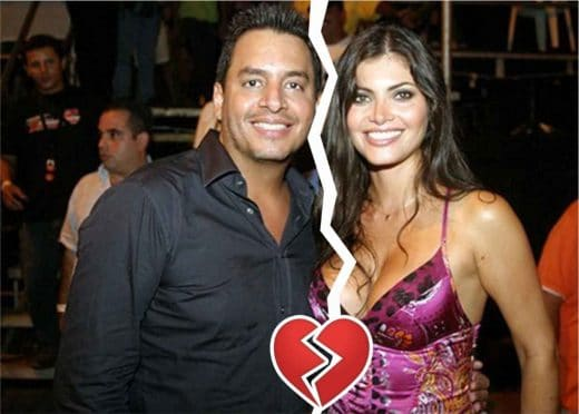 famosos venezolanos que se divorciaron Daniel Sarcos y Chiquinquirá Delgado