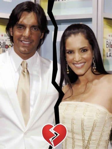 parejas famosas venezolanas que se separaron o divorciaron