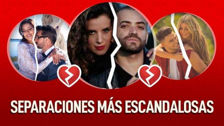 parejas famosas venezolanas que se separaron