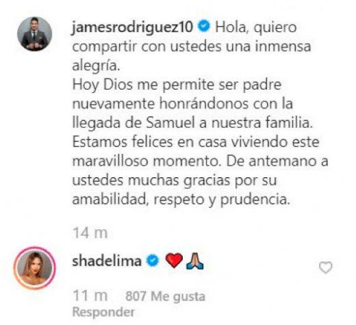 Shannon De Lima comentario