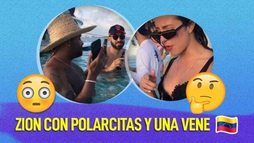 Zion en Los Roques con venezolana