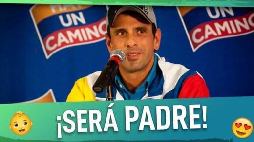 henrique capriles será padre