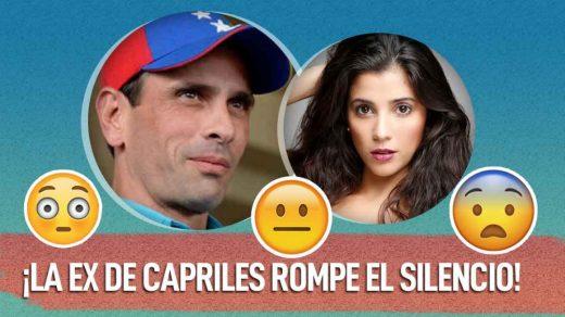 Nina Rancel ex novia de Capriles