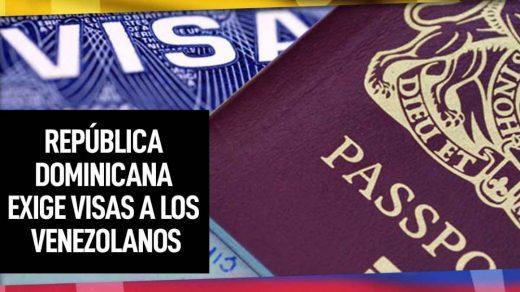 república dominicana exigirá visa a venezolanos