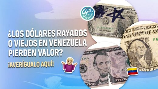 Dólares rayados o viejos
