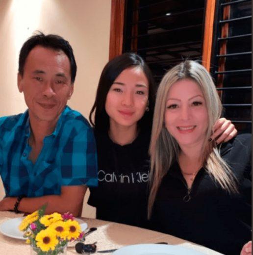 padres de Jousy Chan