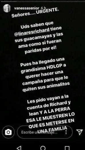 vanessa senior se involucra en polemica de guacayamas con linares