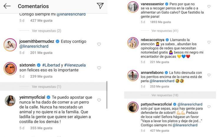 famosos venezolanos defienden a linares y sus guacamayas