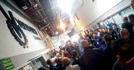 trabajadores de venevision protestan por aumento de sueldo