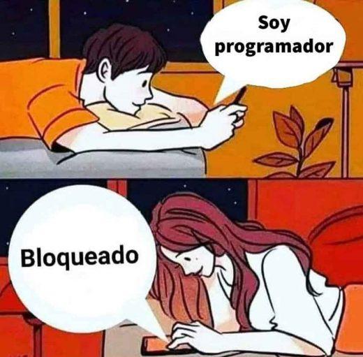 bloqueado por programador