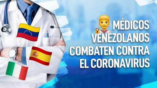 medicos venezolanos en europa