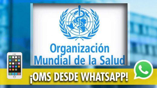nuevo whatsapp de la oms