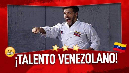 karateca venezolano con Récord Guiness