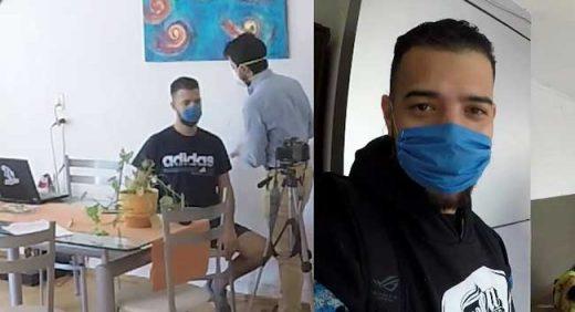 soy david show youtuber venezolano con coronavirus