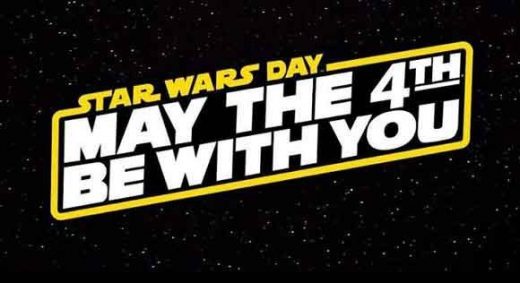 may the 4th be with you dia de star wars