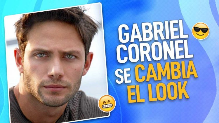 Gabriel Coronel se cambia el look