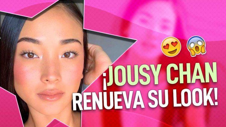 cambio de look de Jousy Chan