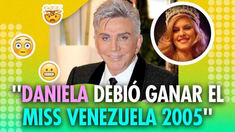 Daniela Di Giacomo debía ser Miss Venezuela 2005