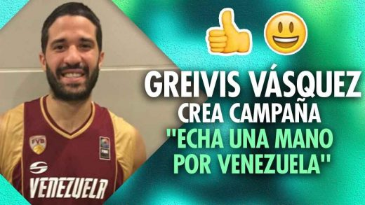 Greivis Vásquez recauda fondos para Coronavirus