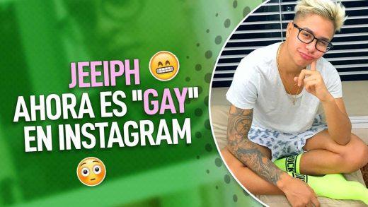 Jeeiph cambia su nombre de Instagram
