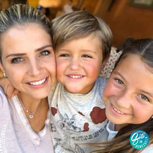 famosas venezolanas con hijos