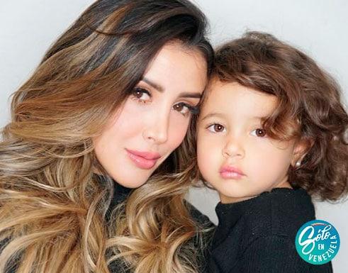 modelos venezolanas con hijos