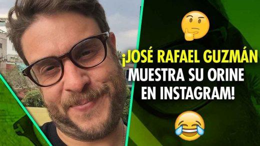 José Rafael Guzmán orina y lo muestra en Instagram