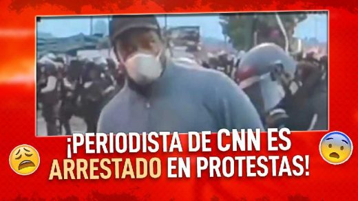 periodista de cnn es arrestado por transmitir los disturbioss de minneapolis