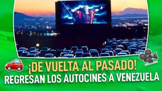 vuelven los autocines en venezuela
