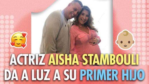 bebé de Aisha Stambouli y Alberto Kauam
