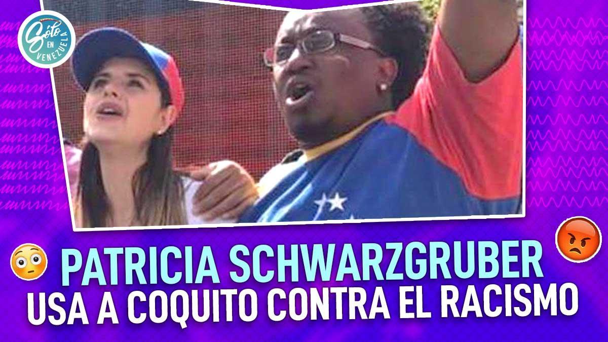 Patricia Schwarzgruber sube foto con Coquito