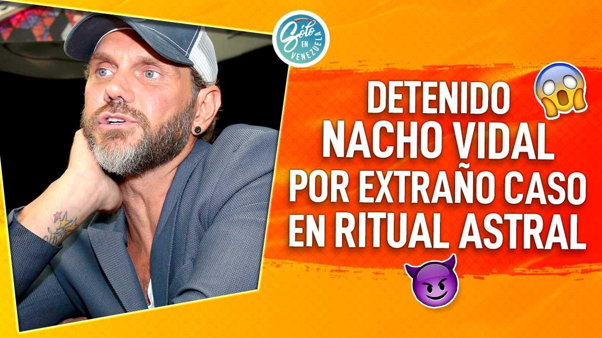 Nacho Vidal es detenido por homicidio