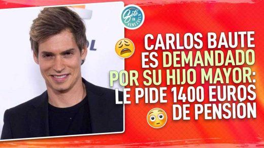 Carlos Baute es demandado por su hijo mayor