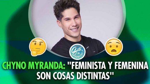 Chyno Miranda es anti-feminista