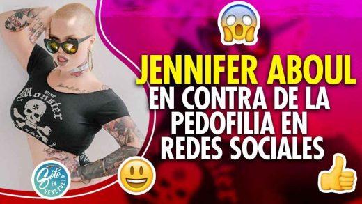 Jennifer Aboul denuncia cuentas con contenido inapropiado