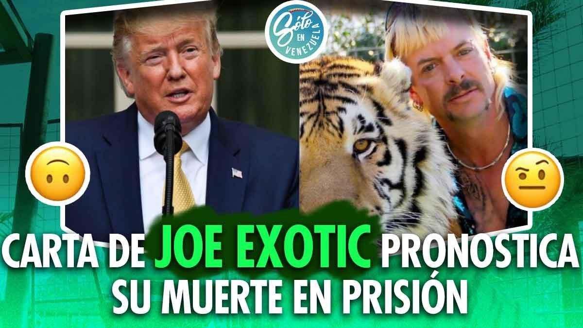 carta de Joe Exotic