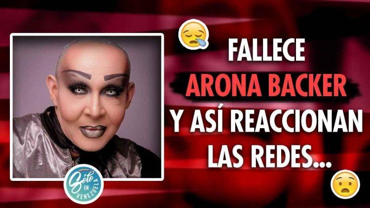 Muere Arona Backer