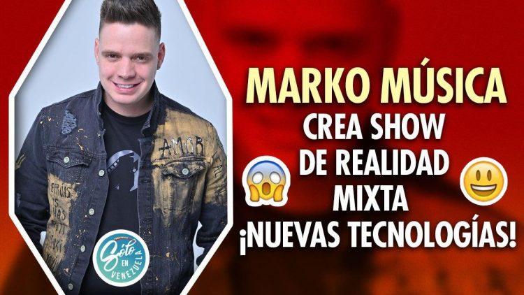 Marko Música prepara show virtual