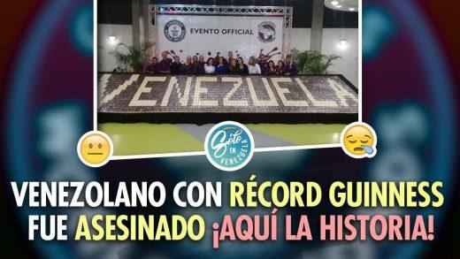 venezolano con premio guiness por chocolate