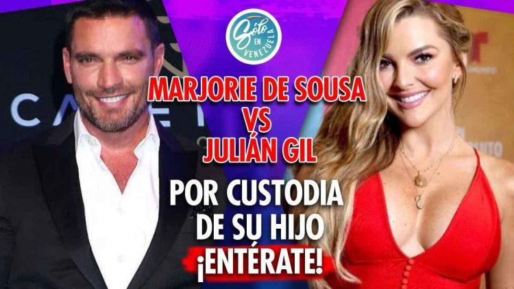 Marjorie De Sousa exige custodia